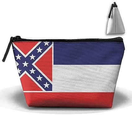 Bandera de Mississippi Maquillaje portátil Recibir Bolsa ...