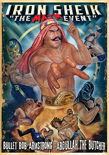 DVD : Iron Sheik: Maim Event Wrestling (Uncut Directors) (Colorized)