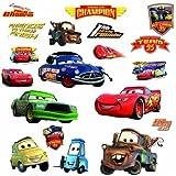 RoomMates RMK1520SCS Disney Pixar Cars Piston Cup Champs Peel & Stick Wall Decal (japan import)