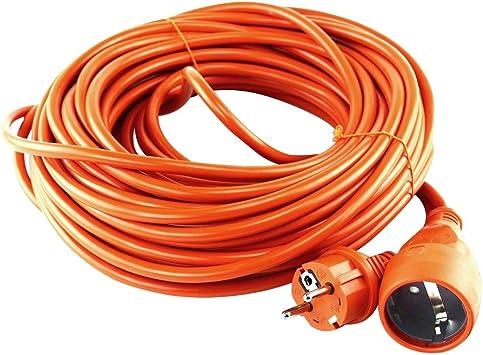 Orno OR-AE-13168(GS) Alargador Electrico 50m IP20 Schuko con protección Infantil