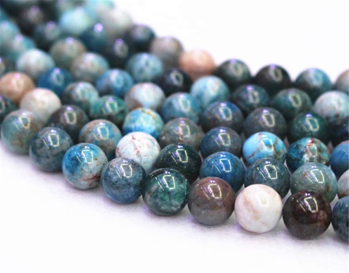 vente en gros Perles 6mm,63pcs Blue Apatite Beads apatite Perles en gros Vente en gros Perles apatite Bleu 6/mm 8/mm 10/mm 12/mm Bleu apatite lisse ronds et perles