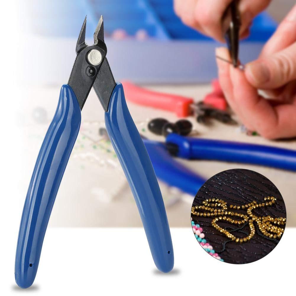 blu scuro Pinze Per Tronchesi Pinze Diagonali In Acciaio Per LElaborazione Di Gioielli In Elettronica Pinze Per Taglio Laterale Pinze Per Cavi In Acciaio