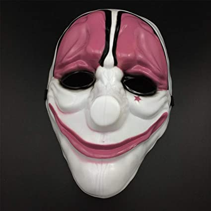 Clown Mask - Style 1pc Pvc Scary Clown Mask Halloween Mascara Carnaval Fancy Dress Costume -