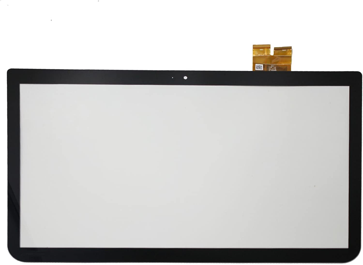 LCDOLED 15.6 inch Replacement Touch Screen Digitizer Front Glass Panel for Toshiba Satellite E55T-A5320 (No Bezel)