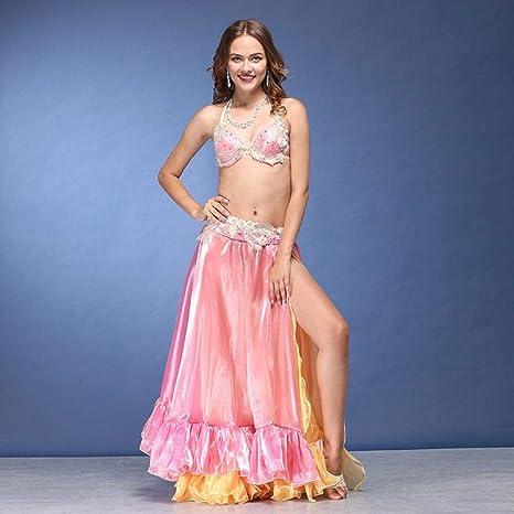 Amazon.com: Z&X - Traje de 3 piezas para danza del vientre ...