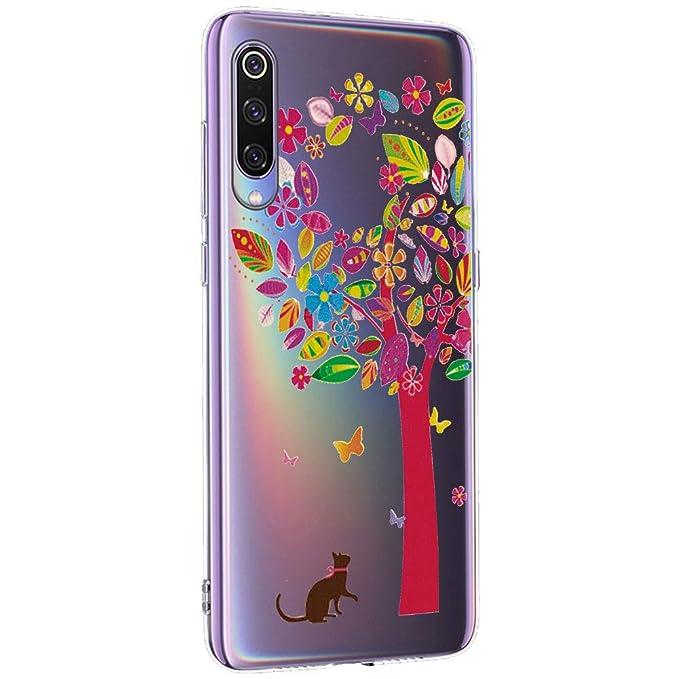 12eve Carcasa Xiaomi Mi 9 SE Case Transparente Silicona ...