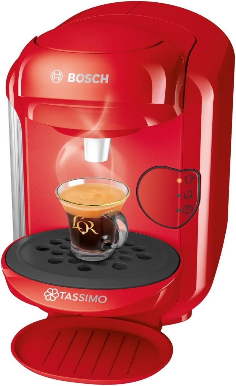 Bosch TAS1403 Tassimo Vivy 2 Cafetera de cápsulas,1300 W, color ...