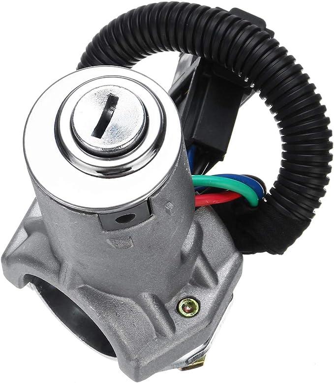 Lopbinte Blocco Porta Botte Interruttore Accensione Auto con 2 Chiavi per Daily 2006 2007 2008 2009 2010 2011 2012 A2996075 2996076