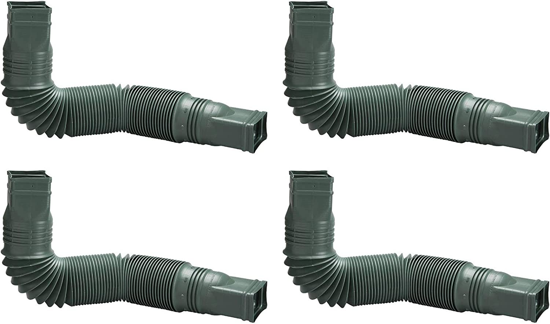 Fоur Расk Flex-Drain 85011 Downspout Extension Green