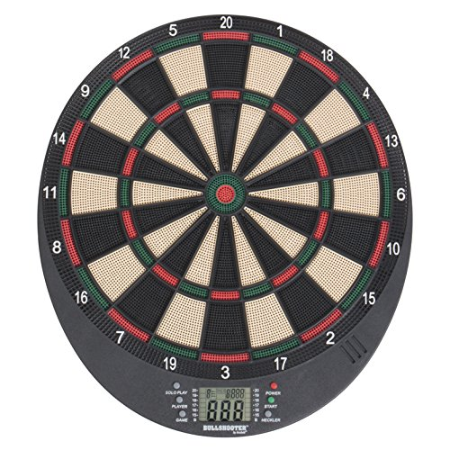 (Arachnid Bullshooter Lightweight Electronic Dartboard with LCD Scoring Displays, Heckler Feature, 8-Player Scoring and 21 Games with 65 Variations)