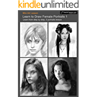 Learn to draw Female Portraits No.1