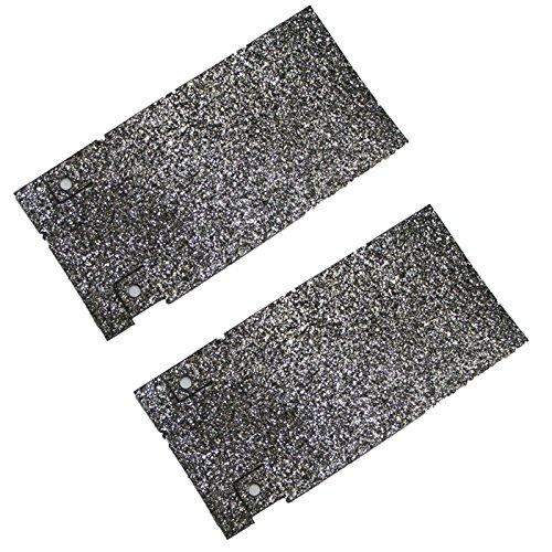 Bosch Plate - Bosch 1274DVS Belt Sander (2 Pack) Replacement Sliding Plate # 2601098037-2pk