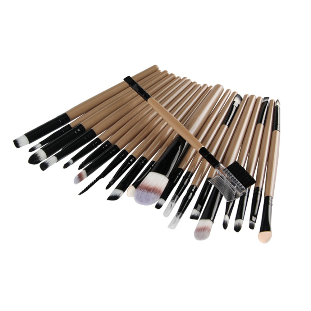 Luxsea 22PCS Cosmetic Foundation Makeup Brushes Set Pro Powder Blush Brush Kit Beauty Tools