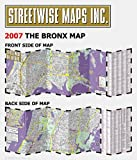 Streetwise The Bronx Map - Laminated City Center Street Map of The Bronx, New York - Folding pocket size travel map with subway stations