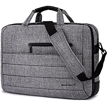 Amazon.com: Laptop Bag Evecase 17.3 Inch Classic Padded Briefcase ...