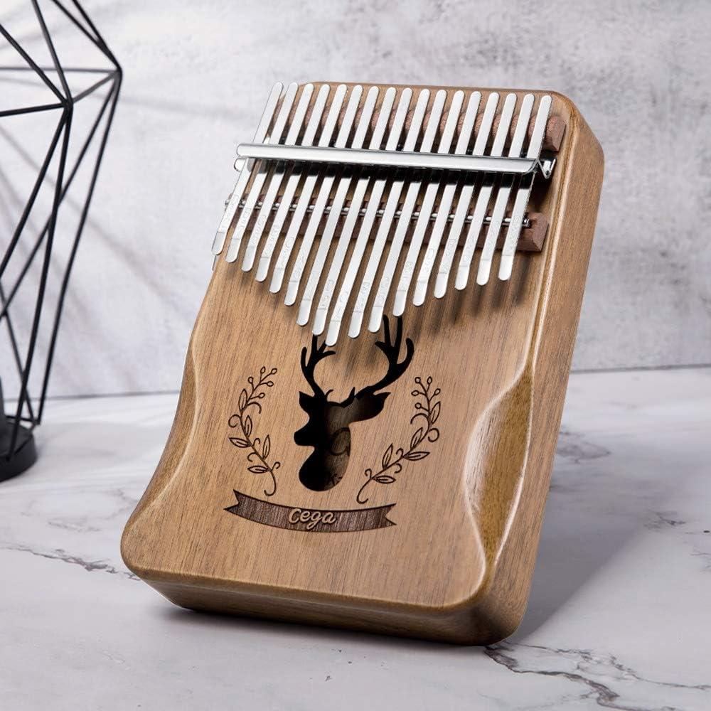 Color : Crane gradient blue Portable 17 Key Mahogany Body Thumb Piano 17 Llaves Musical Instrument Best Quality