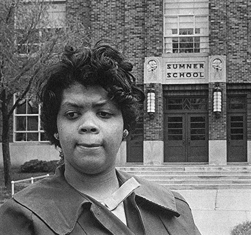 Linda Brown Thompson N(1943- ) African American Student Who Was Barred From Attending Sumner School In Topeka In 1951 And Led To The Supreme Court Case Brown Vs The Board Of Education Brown Photograph (Brown Vs Board Of Education Court Case)