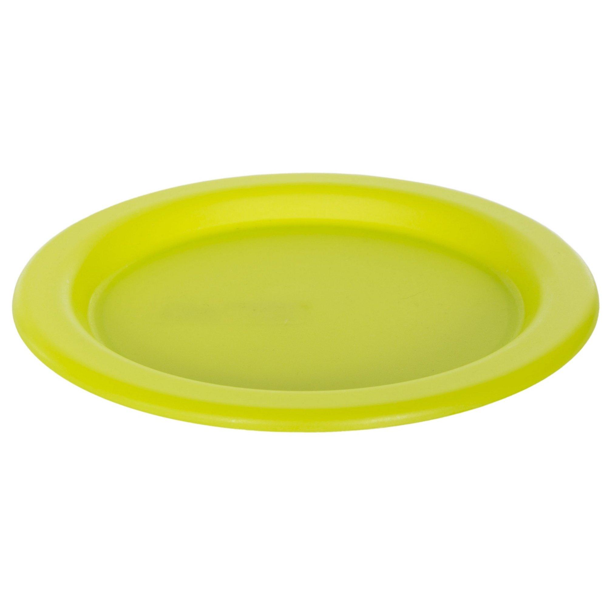 Trespass Savour Lightweight Picnic Plate (One Size) (Lime Green)