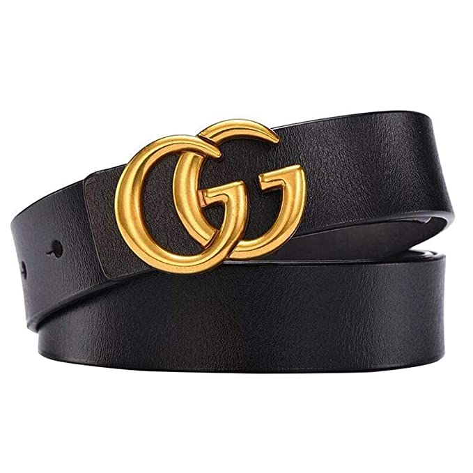 Image result for MiiFree Women's Fashion Leather Belts with Metal Buckle for Dress 1.1'' Wide