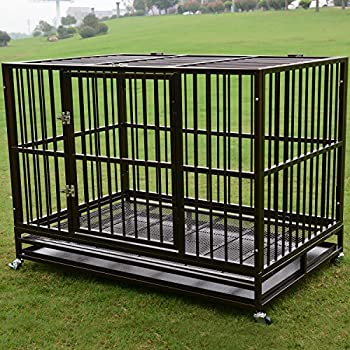 Amazon.com : BestPet Professional Superior Quality Heavy Duty Dog Pet Cat Crate Cage Kennel on