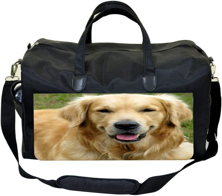 Golden Retriever Up-Close Sports Bag