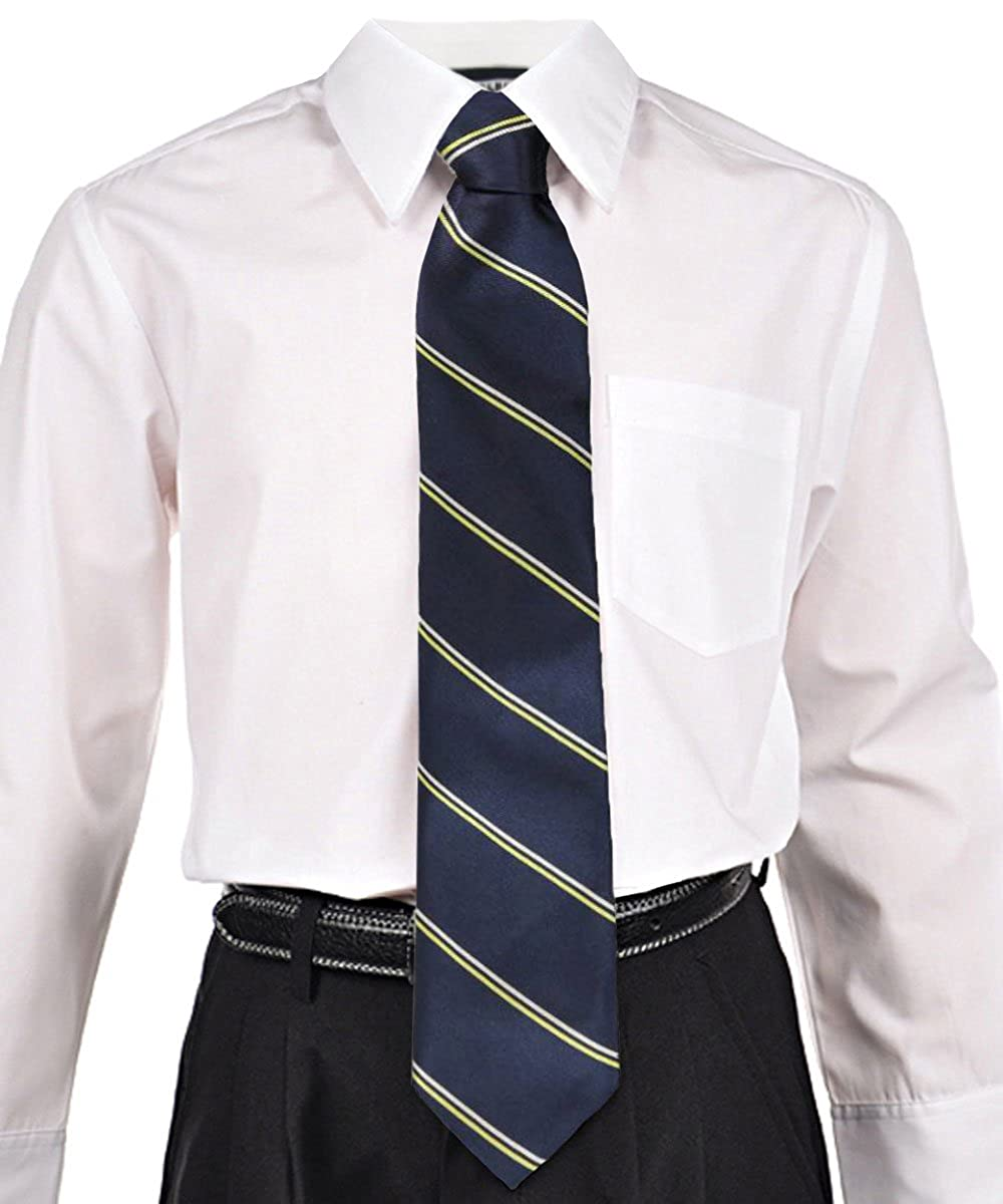 Cookie's Brand Adjustable Banded Necktie with Clip Cookie' s Brand