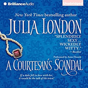 A Courtesan's Scandal Audiobook