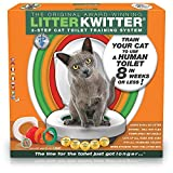 : Cat Toilet Training System By Litter Kwitter - Teach Your Cat to Use the Toilet - With Instructional DVD