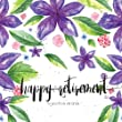 Happy Retirement to You from All of US: Retirement Message Book, Purple Florals Watercolor, Happy Retirement Guest book, Keepsake for Retirement Party (Memory Books for Retirement) (Volume 2) from CreateSpace Independent Publishing Platform