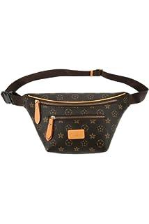 b79d4a20a5d7 Amazon.com : Onzama Womens Leather Designer Belt Bags Fanny Pack ...