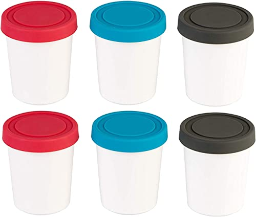 StarPack Portion Control Mini Ice Cream Freezer Containers