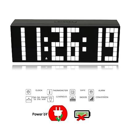 T Tocas (TM) 23,5 cm nuevo digital Digital gran – Número LED