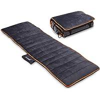 Massage Mat with Heat, 10 Vibration Motors, 3 Therapy Heating pad, Soft Plush Massage Mattress Pad, Home Full Body…