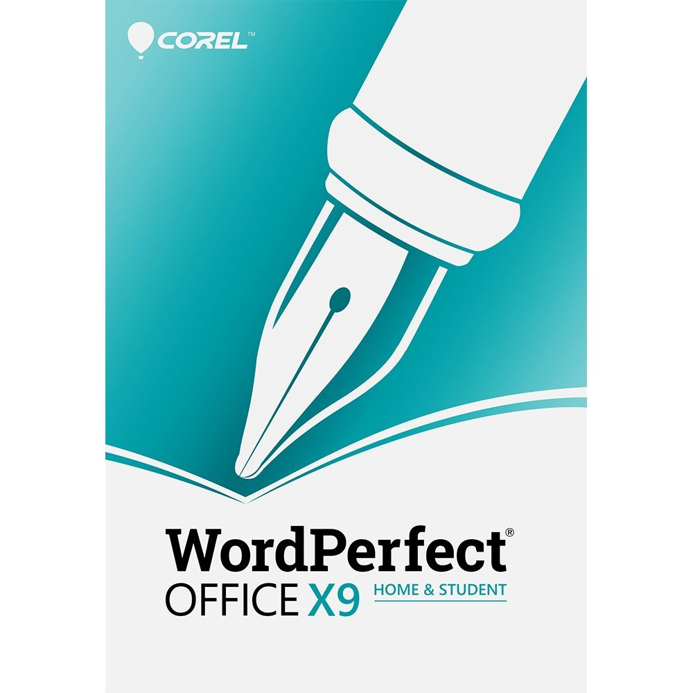 Corel WordPerfect Office X9 Home & Student [PC Download] by Corel