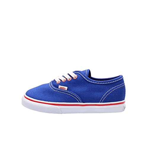2cc8fe43f7 Vans Unisex Baby Authentic Sneaker Blau (Star Eyelet surf The Web) 21 EU