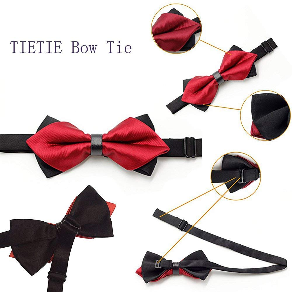Bowtie Self Bow Tie Paisley Tie Wedding Party Gift Holiday Party Bow Tie