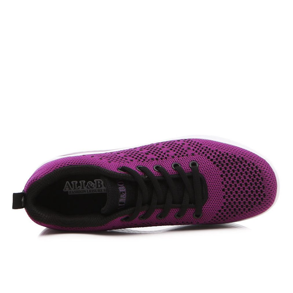 b1c2c6dab0d76 LFEU Femme Chaussure de Sport Basket Mode orthoptique Textile Voyage  Sneakers Légère Fashion: Amazon.fr: Chaussures et Sacs