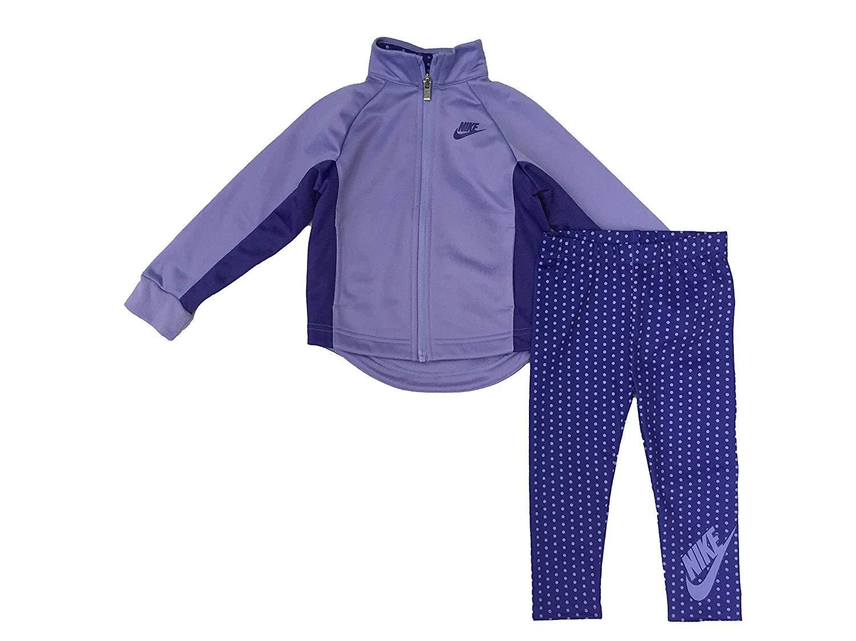6e70c18445 16C819-P3E Nike Little Girls` Therma-Fit Full Zip Hoodie & Jogging Pants 2  Piece Set ...
