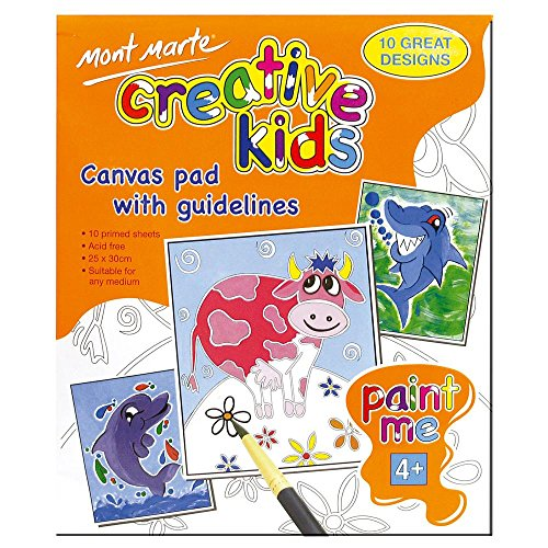 Mont Marte Coloring Books for Kids, Size 25X30cm, 10 Great Designs