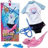 Mattel Traje de Buceo | Moda Magia Delfines | Barbie FBD86 | Ropa de Muñeca