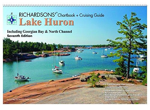 Richardsons' Chart Book & Cruising Guide: Lake Huron - 7th Ed. ()