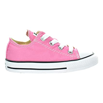 ead9ba7a1e90 Converse Chuck Taylor All Star OX Unisex Shoes Pink 7j238 (7 M US)   Amazon.in  Baby