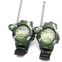 FnieYxiu Educational Toys, Kids Children Toys Outdoor Games Walkie Talkie Girls Boys Watches Interphone