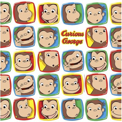 Curious George Gift Wrap Wrapping Paper