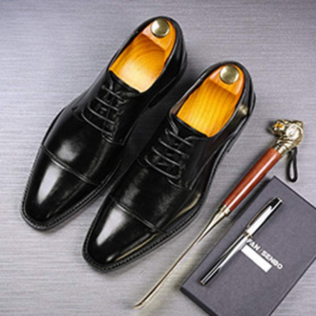 Yujingc Zapatos de Vestir para Hombre Zapatos Oxford de Cuero con ...
