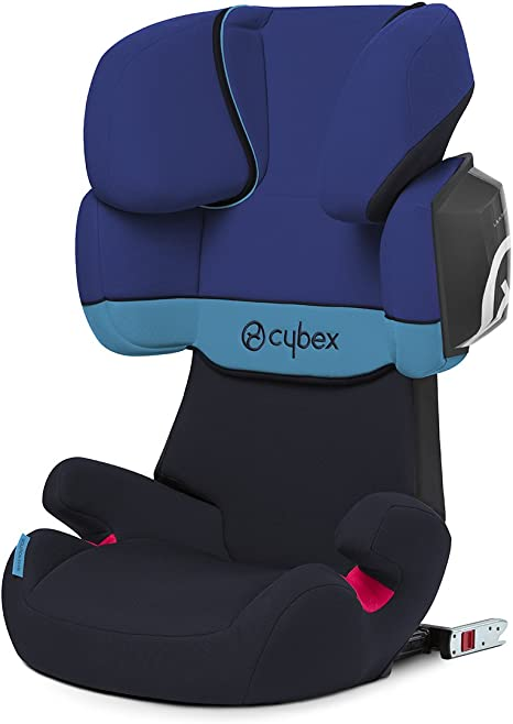 Cybex Silver Solution X2 Fix Silla De Coche Grupo 2 3 Azul Blue Moon Amazon Es Deportes Y Aire Libre