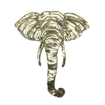 Sunlera Parches de Lentejuelas Coser a Mano con diseño de Dibujos Animados: Amazon.es: Hogar