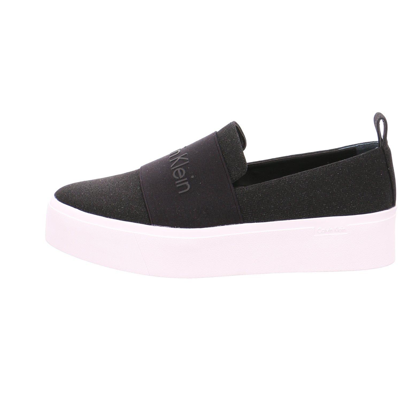 Calvin Klein Mocasines de Lona Para Mujer, Color Negro, Talla 38 EU: Amazon.es: Zapatos y complementos