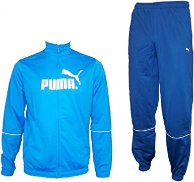 PUMA - Chándal para niño, tamaño 176 UK, Color Brilliant Azul ...