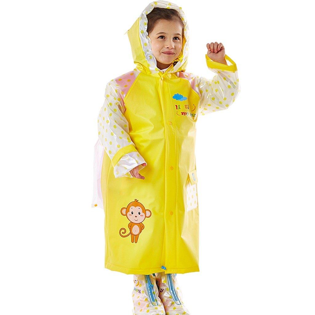 34b61cf0018 Chubasqueros QFF Niño Impermeable niños y y y niñas bebés al Aire Libre a  pie de Estudiante Poncho